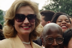 Hillary Clinton - South Lawn of the White House (1995)