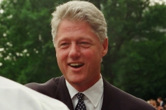 President Bill Clinton - South Lawn of the White House (1995)