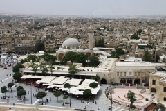 View from the Citadel - Aleppo, Syria (2010)