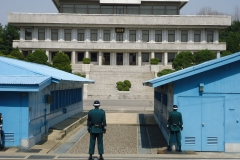 Looking at North Korea - Panmunjom, Korea (2012)