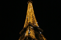 Eiffel Tower at Night - Paris, France (2005)