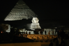 Sphinx at Night - Cairo, Egypt (2007)